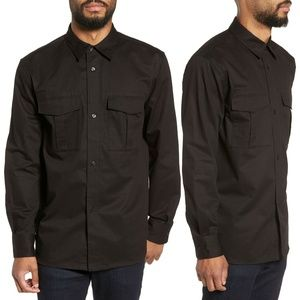 Fred Perry Utility Sport Shirt Long Sleeve Button